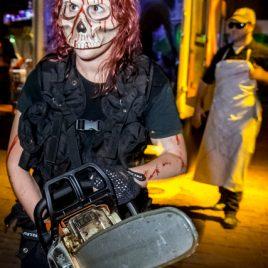 Female Chainsaw Purger